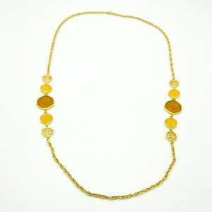 Taste of Honey Topaz Colored Necklace
